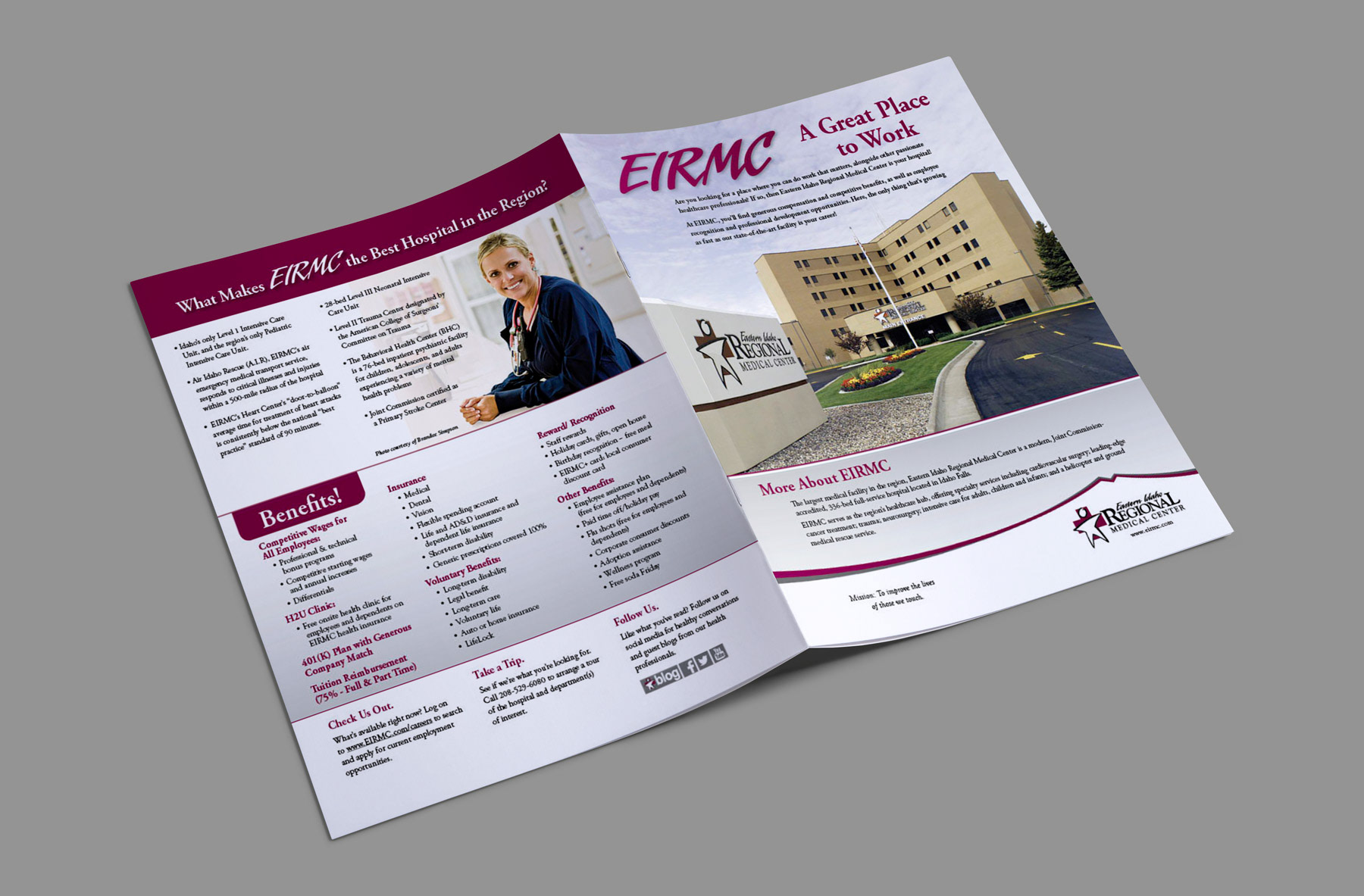 karen hall eirmc recruitment brochures