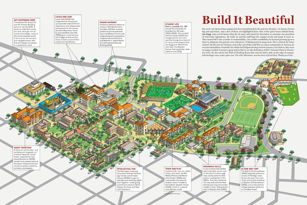 Pace Campus Map.Rod Hunt Illustration And Illustrated Maps Map Illustrator