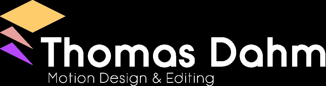 Thomas Dahm - Motion Design & Editing