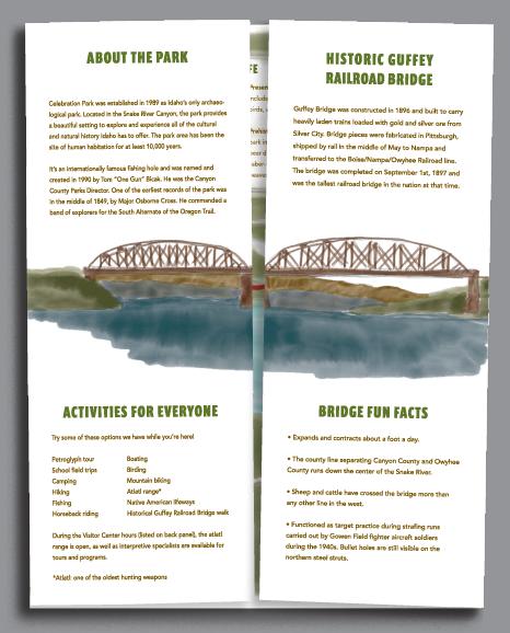 Morgan Baxter - park brochure guide