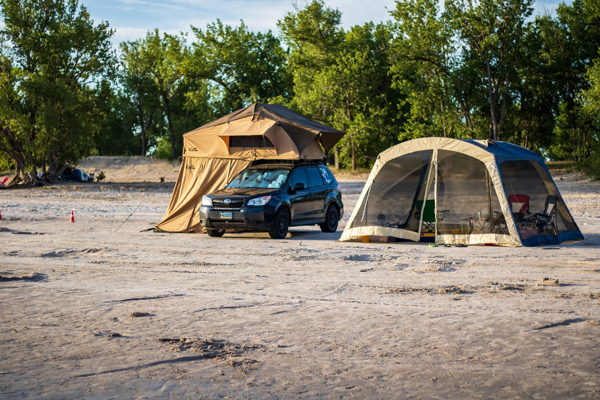 Dustin Parry - Lake McConaughy Camping Trip