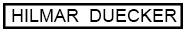 Hilmar Duecker