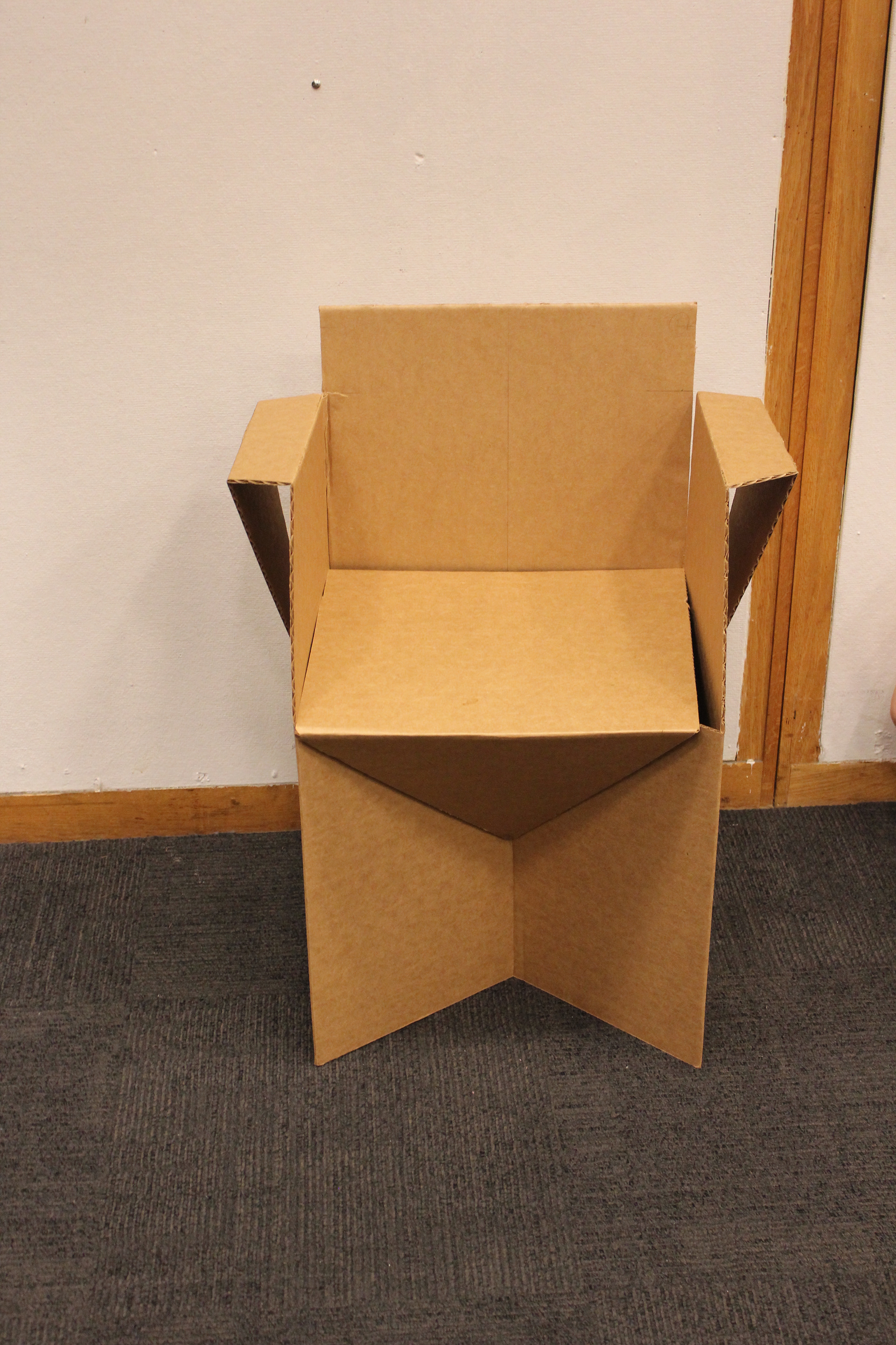 cardboard chair design with legs. Plain Legs Cardboard Chair Design With Legs These Changes Allowed Me To Keep The Same  Basic Pattern In Cardboard Chair Design With Legs U