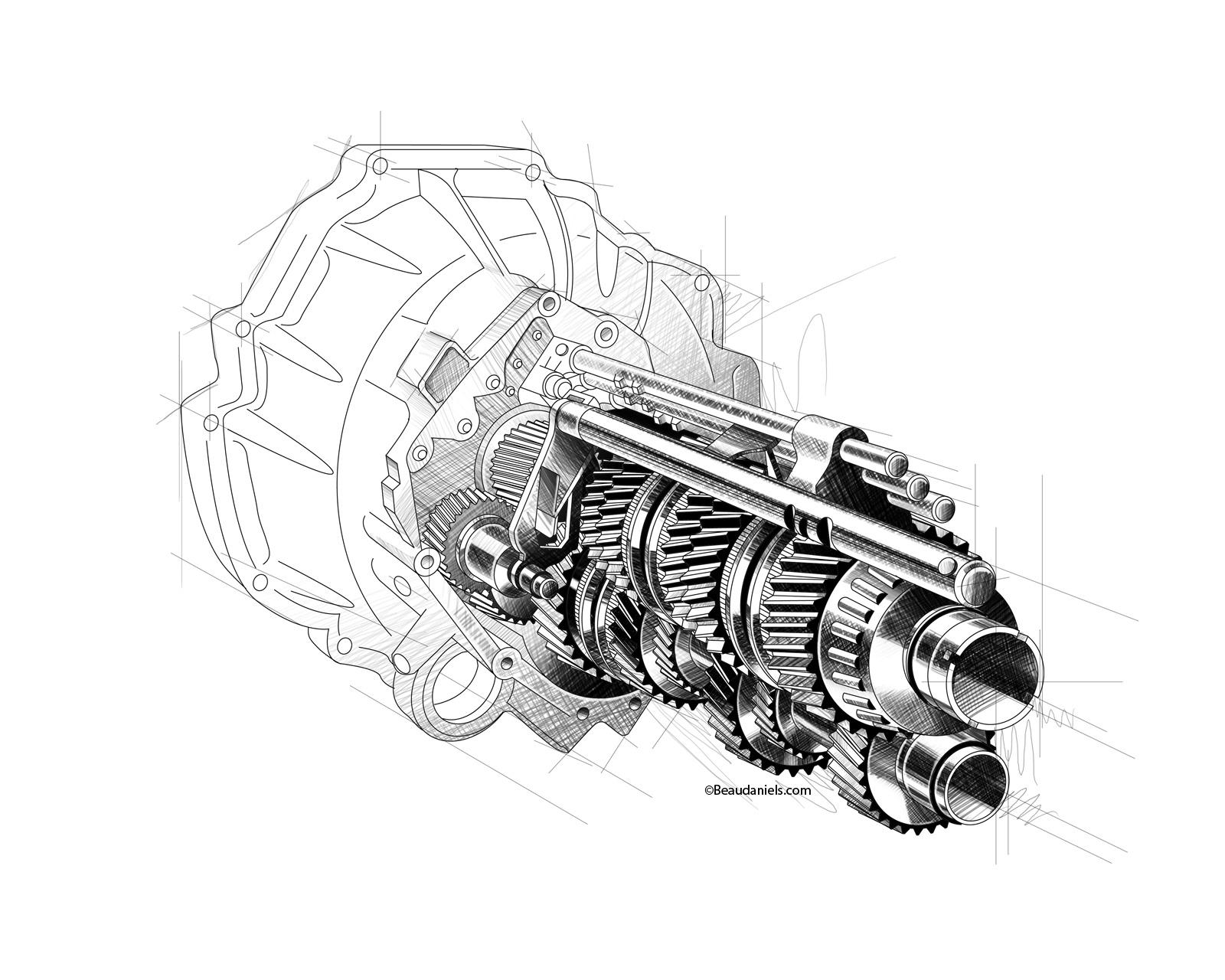 technical illustration  beau and alan daniels