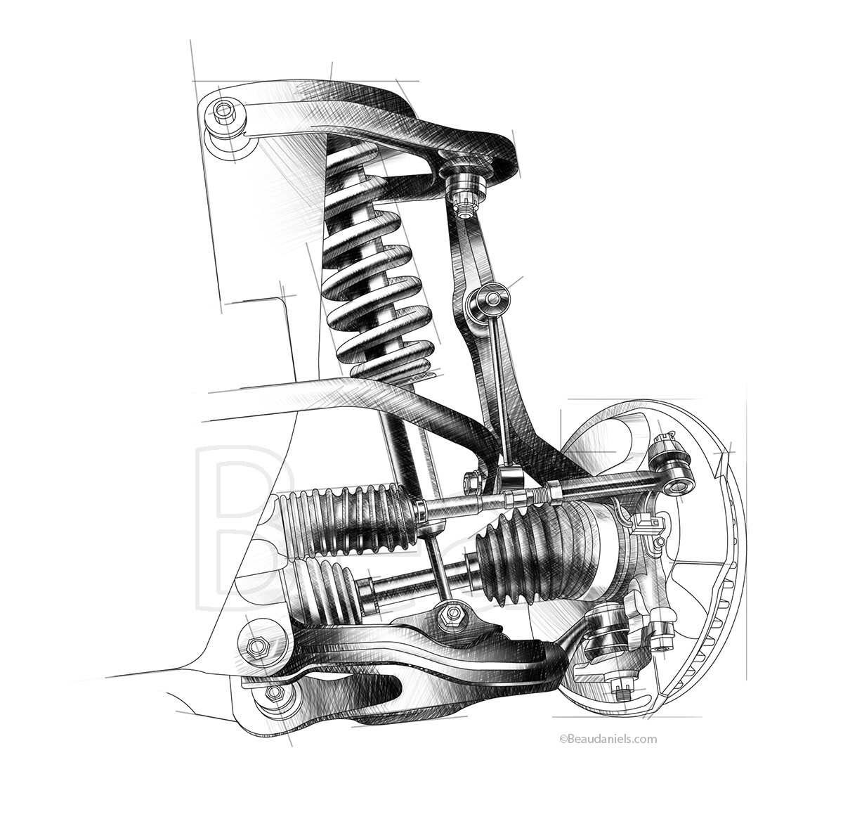 Car Transmission Illustrations together with Car Transmission Illustrations also Car Suspensions besides Toyota Fj Cruiser Spot Illustrations together with Honda S2000 Drawings. on generic car engines portfolio 3