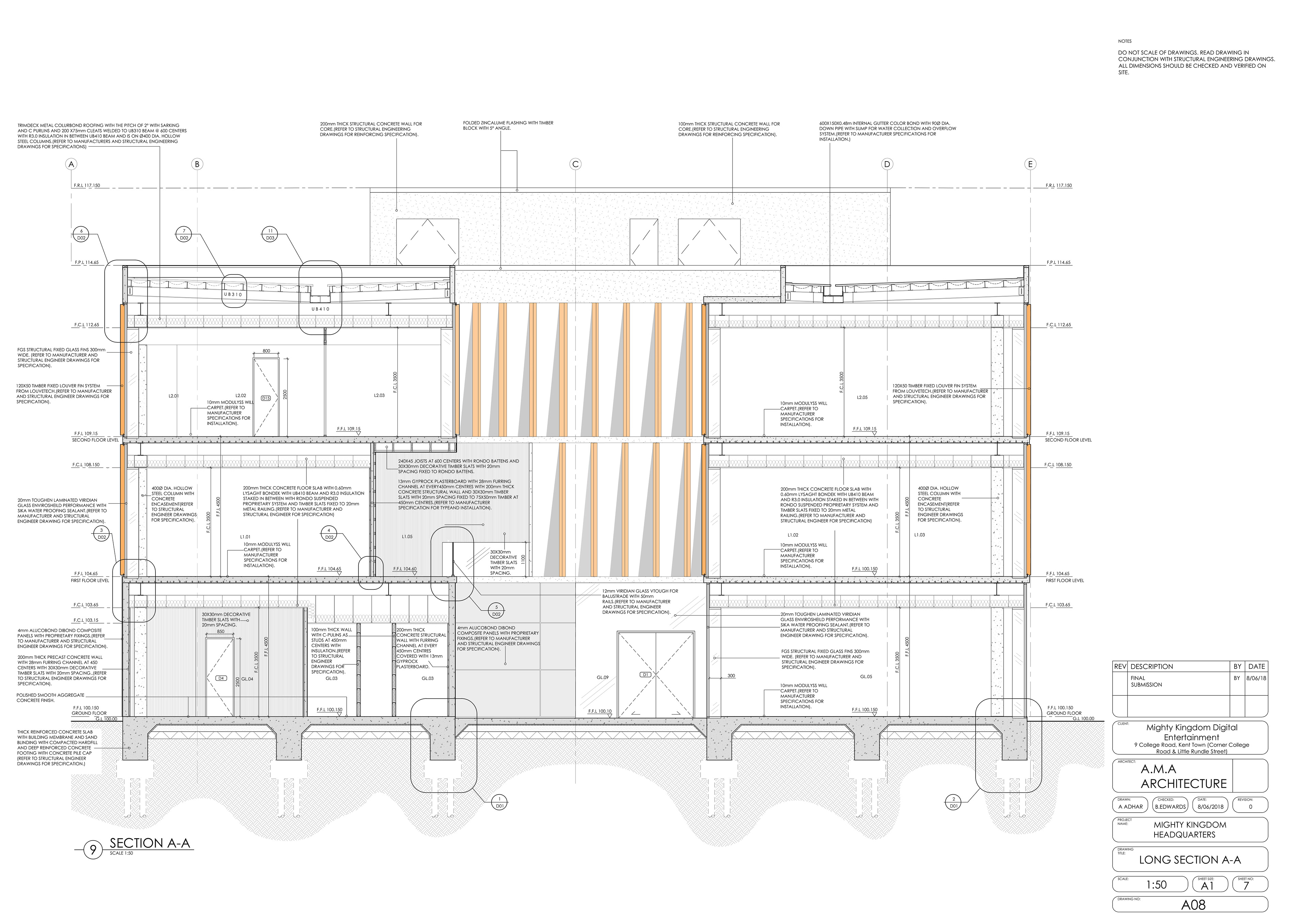 Agastya Adhar Studio 5 Wall Schematic Engineering Diagram Interior And Exterior Perspective