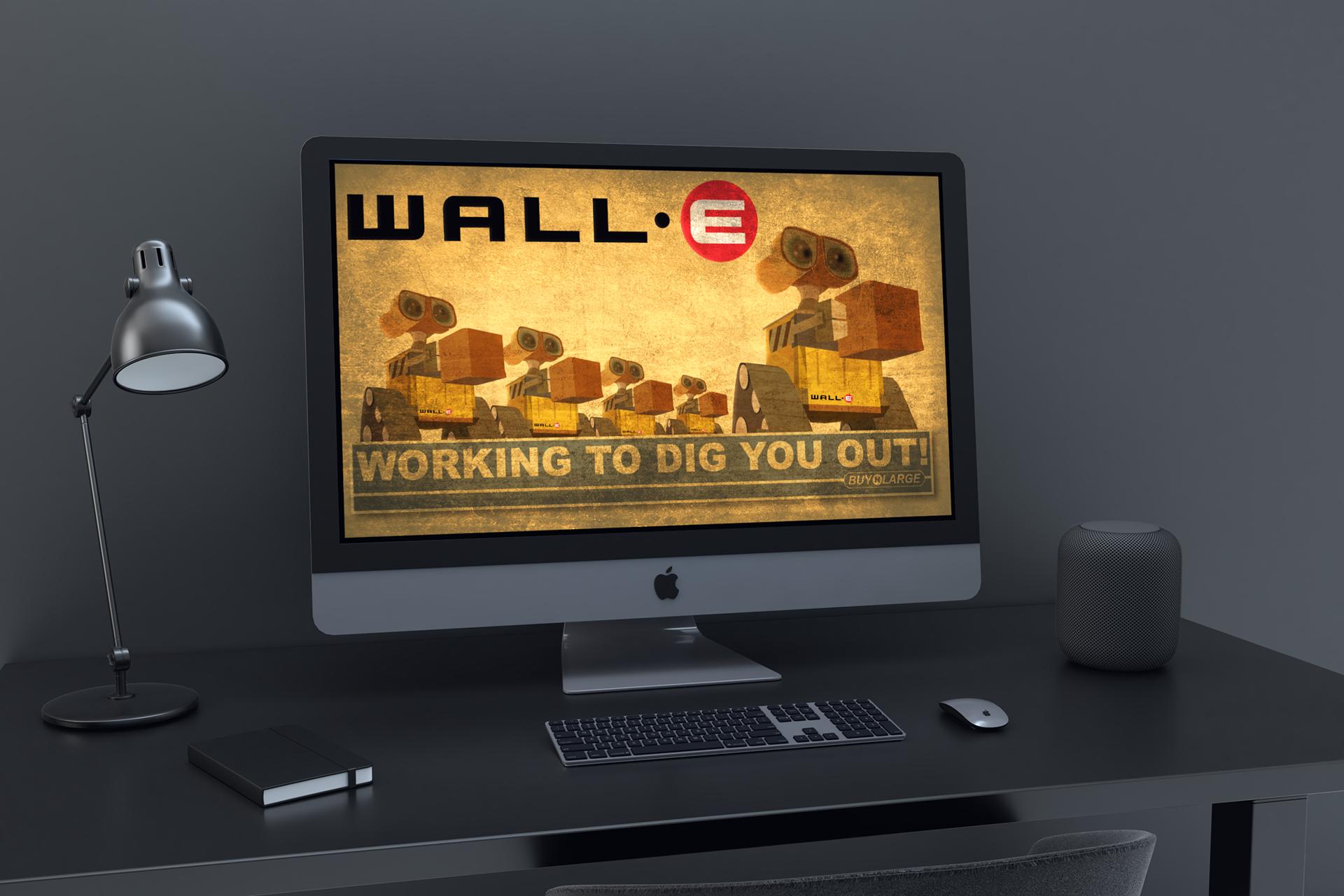 Joshua Russell Wall E Wallpaper