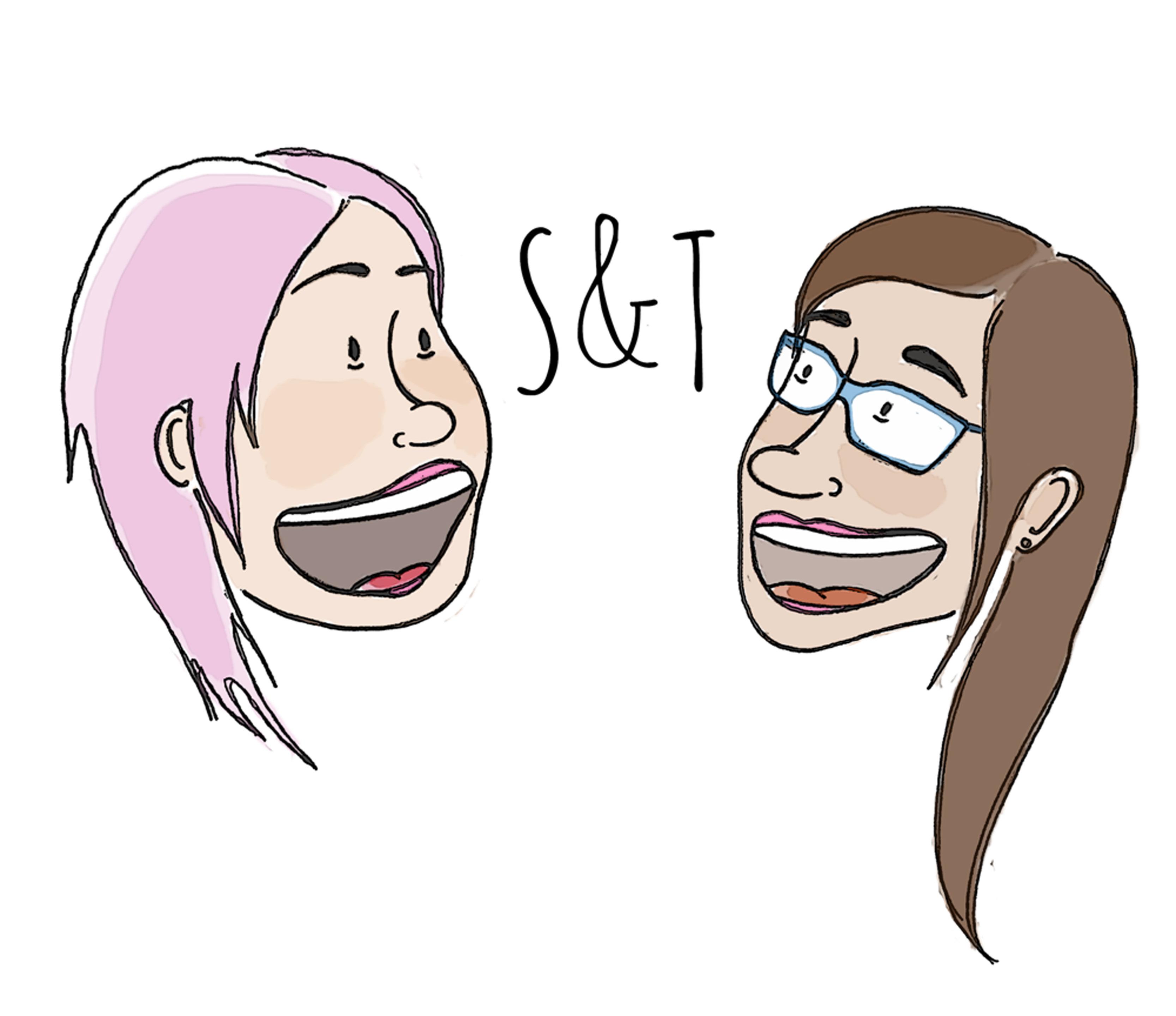 Sarah and Tash