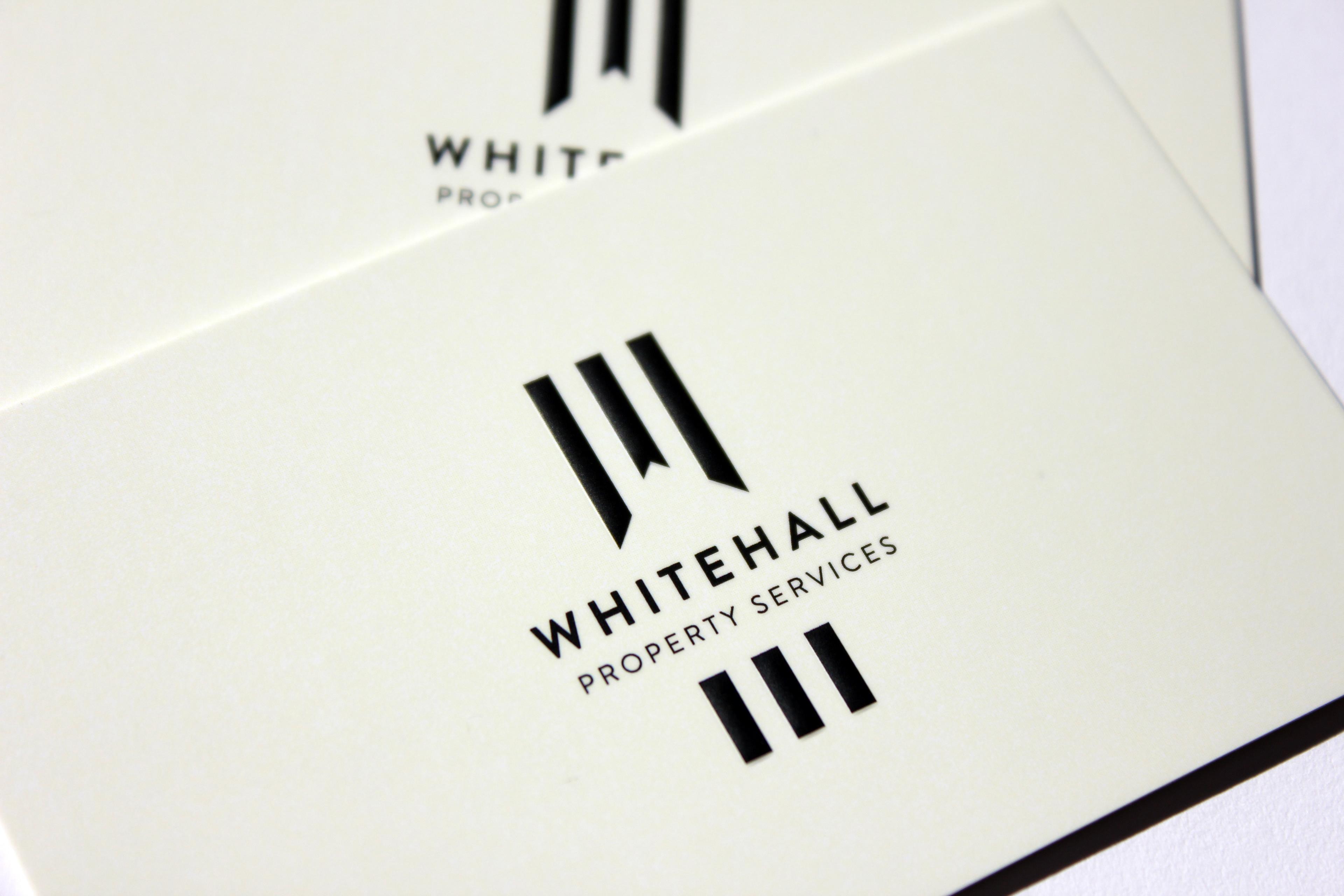 Tim Starkey - Whitehall Property Services logo / business cards