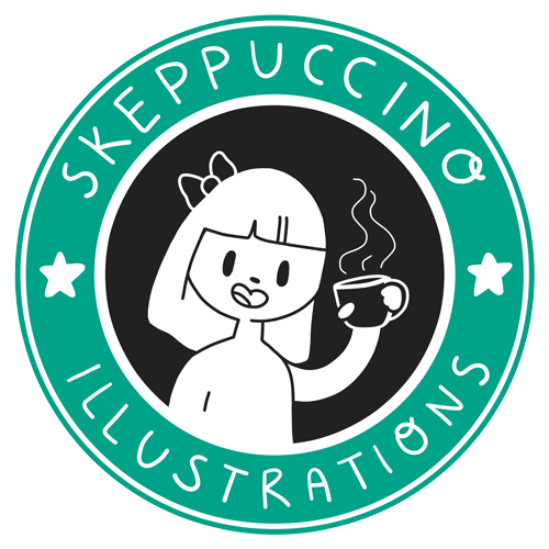 skeppuccino illustrations