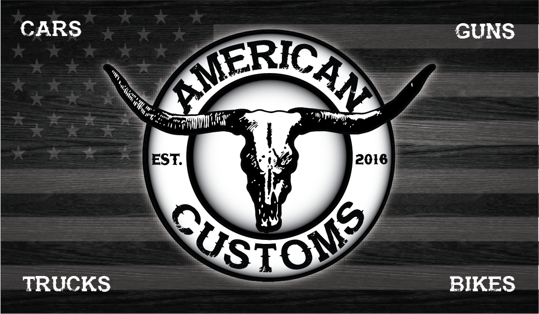 Lindsey Jean Design - American Customs Logo & Business Card