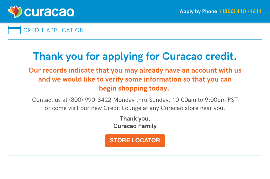 paul casanova curacao credit application