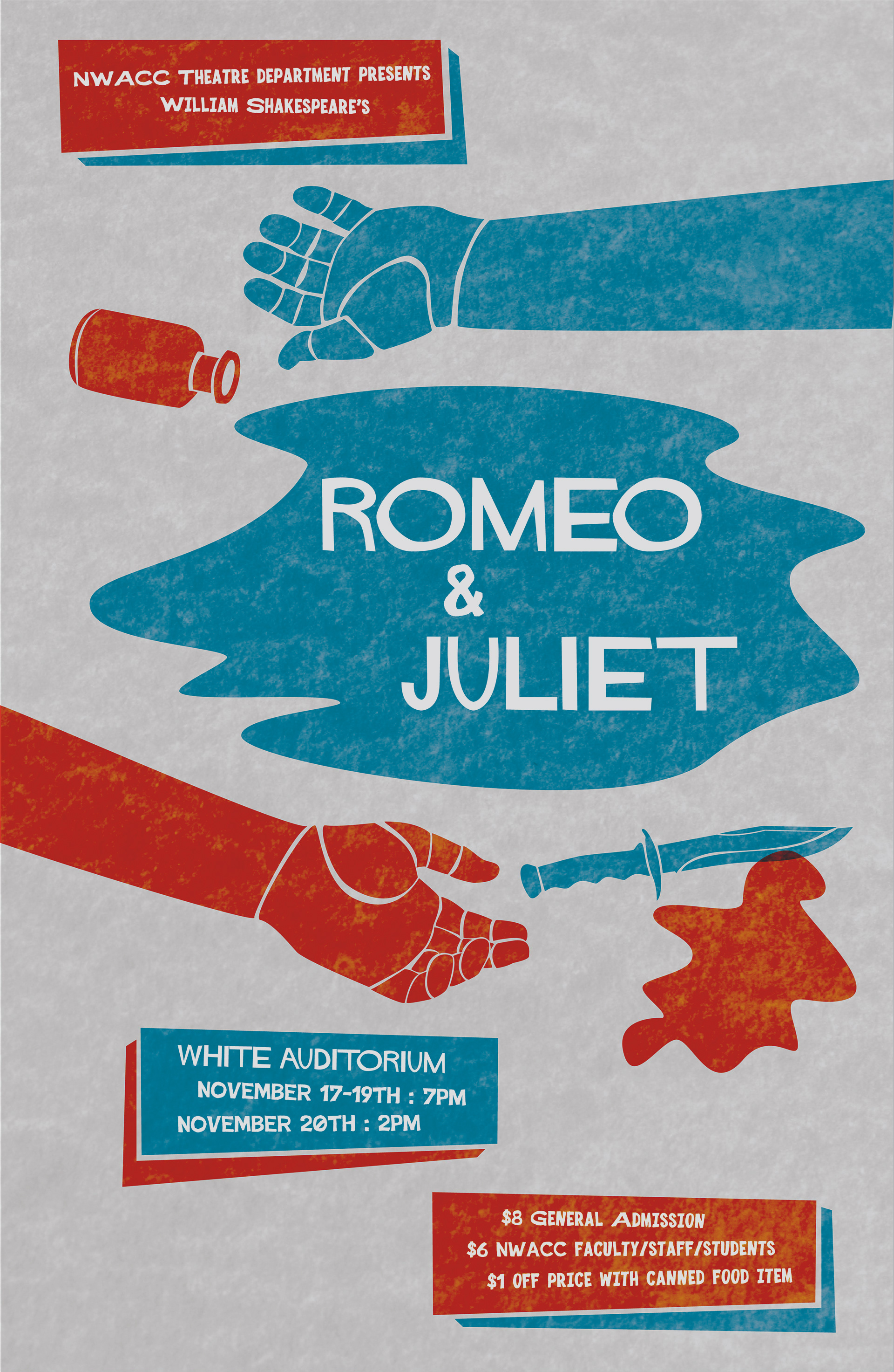 I Was Asked To Design A Poster For Theater Production Of Romeo And Juliet This Piece Inspired By The Amazing Work Saul Bass